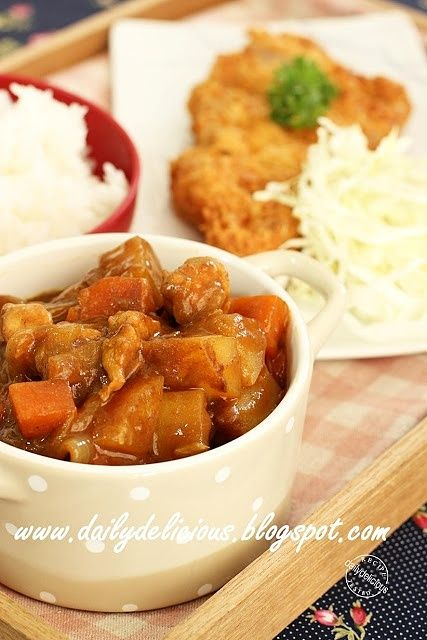 Happy Cooking with LG SolarDOM: Japanese Chicken curry