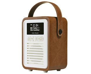 Expert Verdict Retro Mini Portable DAB Radio, Brown We've chosen this radio as much for its gorgeous, petite design and colours as for its genuinely-excellent DAB and FM reception. This portable radio doubles as a bedside clock radio, although it's far http://www.MightGet.com/march-2017-1/expert-verdict-retro-mini-portable-dab-radio-brown.asp