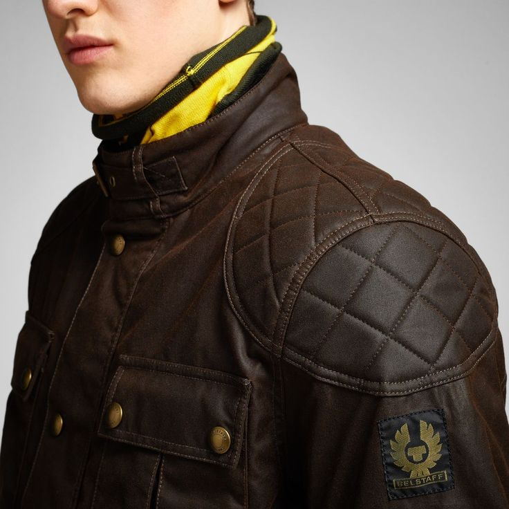 Belstaff Leather Jacket Biker