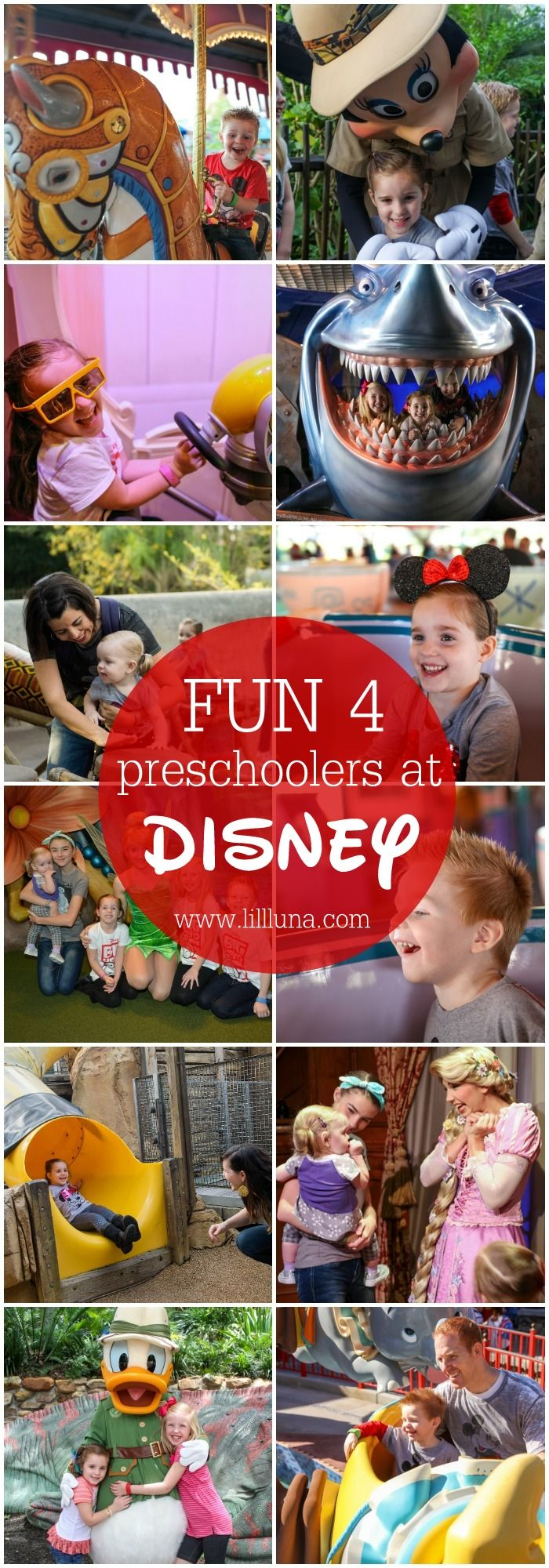 Fun for Preschoolers at Disney - great suggestions for attractions, events and places to visit while on your Walt Disney World vacation. #ad