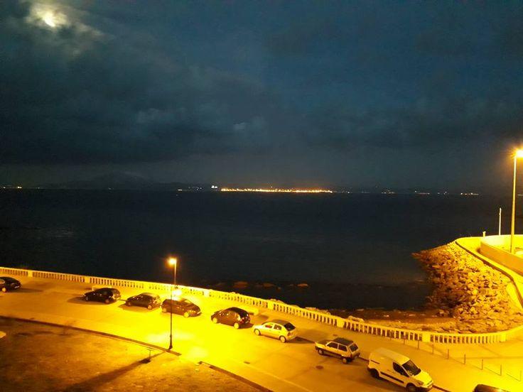 Tarifa, Spain.  Tanger, Morocco can be seen across the ocean.  Breathtaking view!  Taken May 2017.