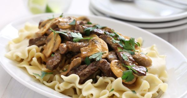 Served with hot buttered noodles, our easy and yummy Beef Stroganoff recipe with its extra creamy sauce is guaranteed to have everyone asking for more!