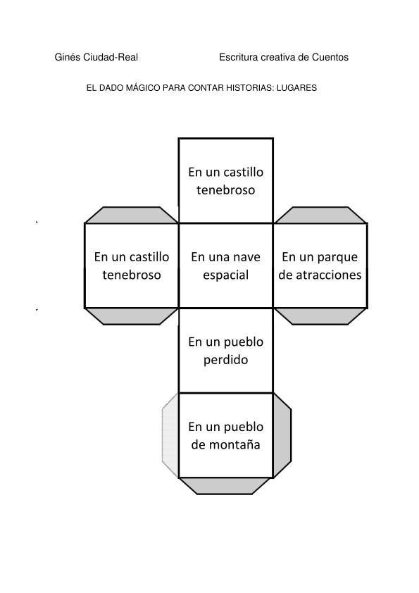 Colección dados mágicos para crear cuentos. Incluye tutorial. Orientación Andújar.
