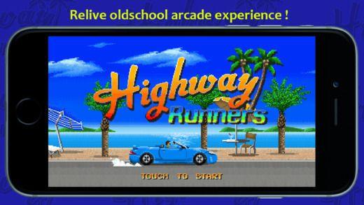 Highway Runners: corse automobilistiche dal design old-school
