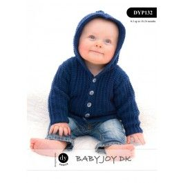 Hooded Cardigan & Bootees in DY Choice Baby Joy DK (DYP132) Digital Version £2.49