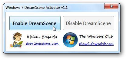 Windows DreamScene adalah utilitas yang hanya ada di Windows Vista Ultimate yang memungkinkan pengguna untuk menggunakan video sebagai wallpaper desktop. Tetapi fitur cantik ini tidak ada lagi di Windows 7 dan setelahnya, Tetapi, jangan kuatir, anda masih bisa menikmati fitur Dreamscene ini. Ikuti cara menjadikan video sebagai wallpaper di Windows 7. Trik ini menggunakan tool DreamScenes Activator.