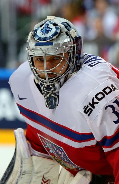 Ondrej Pavelec Photos - Czech Republic v Switzerland - 2015 IIHF Ice Hockey World Championship - Zimbio