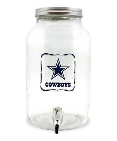 Look at this #zulilyfind! Dallas Cowboys 5-L Sun Tea Jar #zulilyfinds