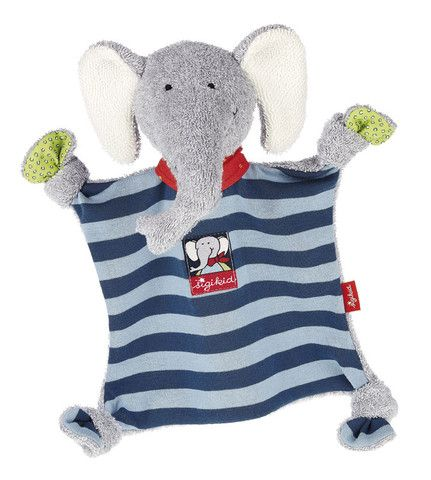 Sigikid Comforter LoLo £17.60  Lolo lombardo cuddly elephant is wonderfully soft and huggable and perfect for snuggling and comforting.
