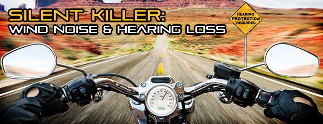 Wind noise really is the #1 hearing hazard motorcycle riders face. Cutting down on the wind noise will save your ears without neutering the gorgeous rumble of your engine.