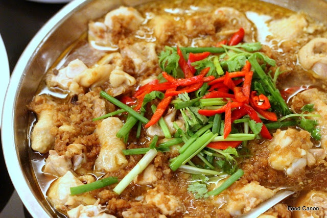 "The Food Canon - Inspiring Home Cooks: Steamed ""Kampung"" Chicken in Ginger Sauce"