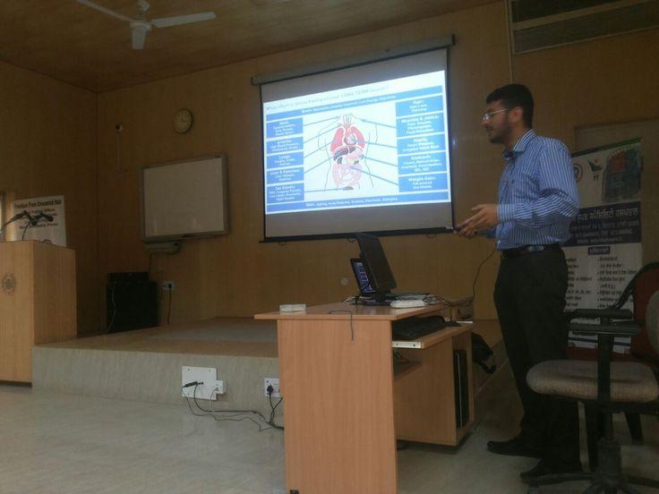 Health Awareness Talk on Stress management by Dr. Prannay Gulati at DMW ( Indian Railway), Patiala.
