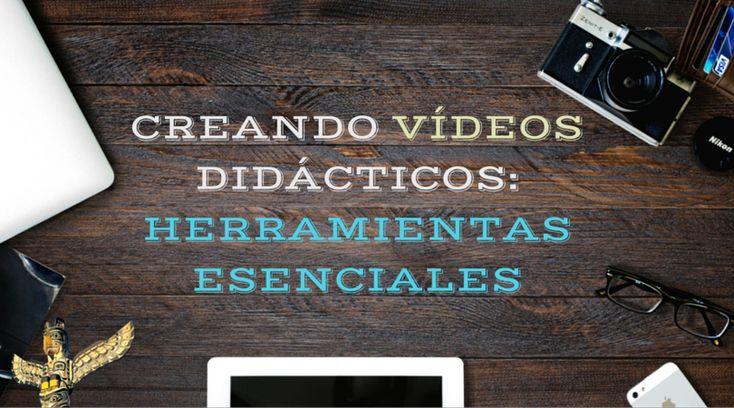 Para crear tus vídeos o adaptar vídeos didácticos que encuentras en Internet, tendrás que desarrollar competencias digitales específicas e incorporar una serie de herramientas a tu PLE.