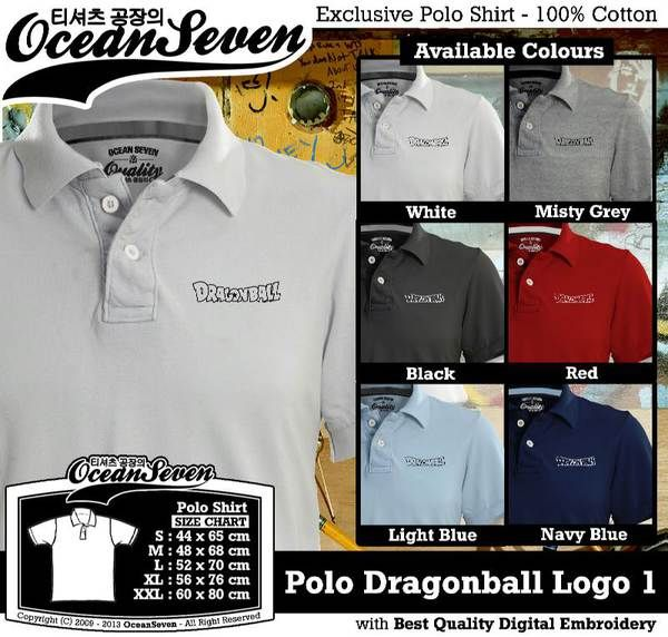 Polo Shirt - Polo Dragonball Logo 1