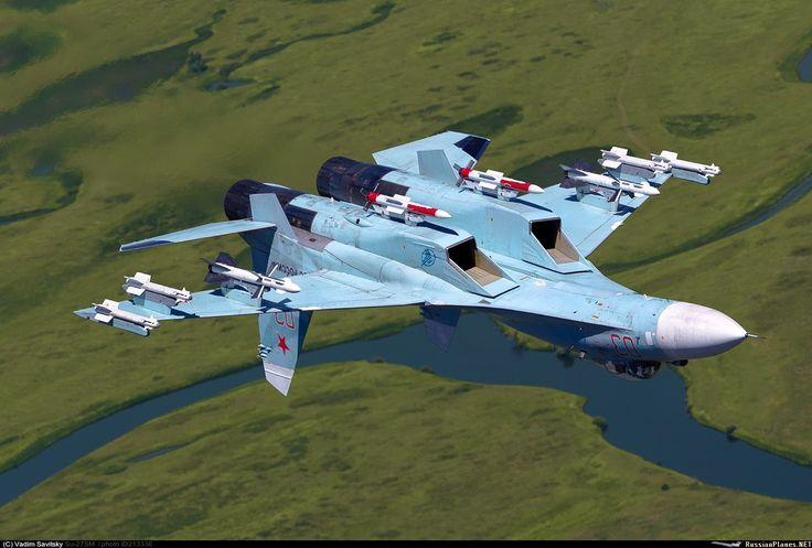 "Russian Air Force Sukhoi Su-27SM3 ""Flanker-B"""