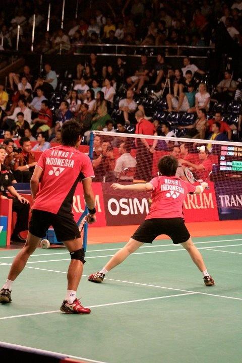 Tontowi Ahmad / Liliana Natsir Indonesia Open 2011
