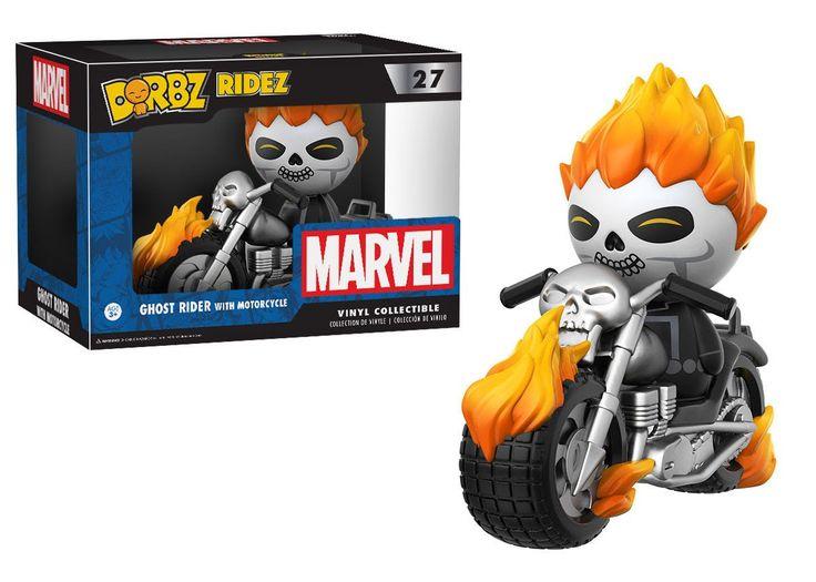 Funko Dorbz Rides Ghost Rider with Motorcycle vinyl toy #27 PREORDER