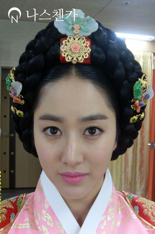 Korean, Joseon Dynasty, Royal Court Lady Style, Eo' Yeo Meori