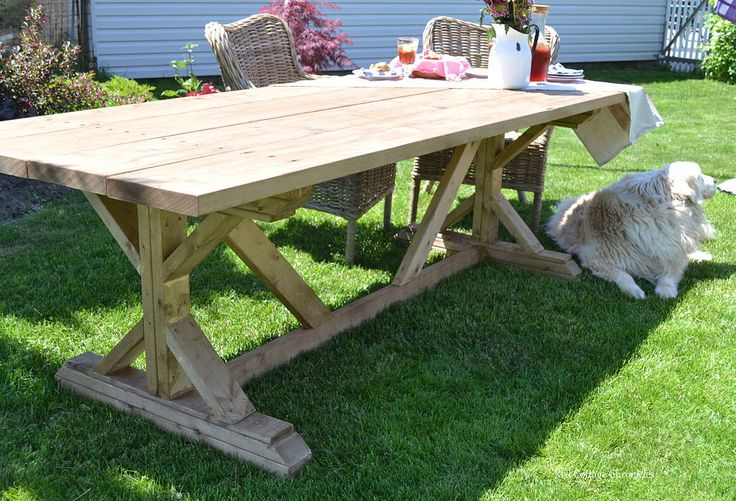Outdoor Harvest Table