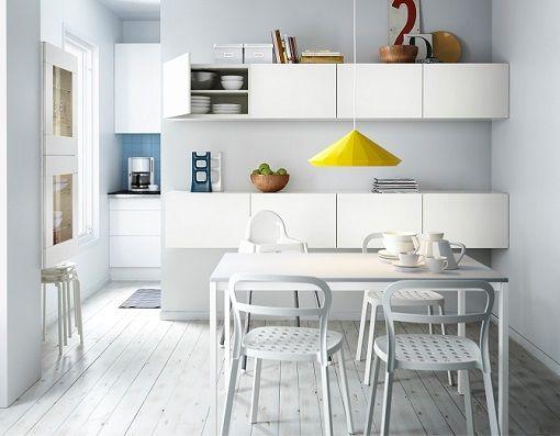 mesas de cocina baratas de ikea abatibles extensibles y de madera