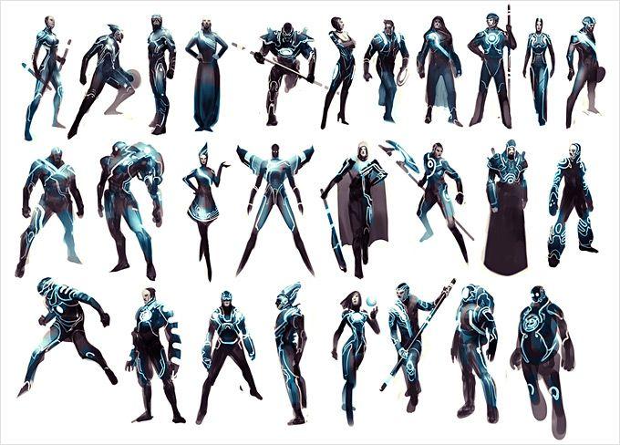 Character Design Evolution : Best ideas about tron art on pinterest legacy