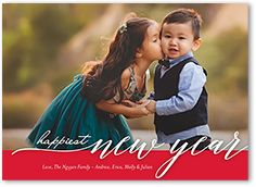 New Year's Cards & New Year Photo Cards - 2018 | Shutterfly