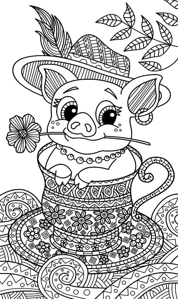 485 best coloring farm animals images on pinterest farm animals