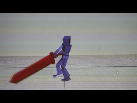 重量武器アクションの制作02 - YouTube