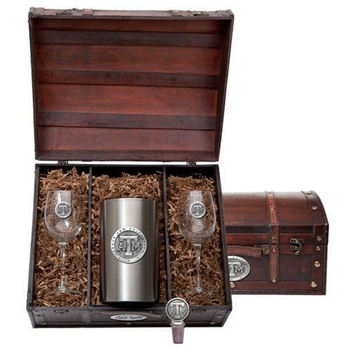 Texas A&M Aggies Wine Gift Set