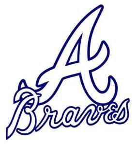 Atlanta Braves Yeti Decal by CustomizablebyLauren on Etsy