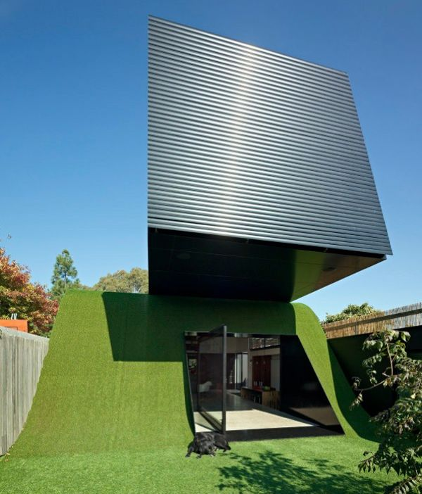 Hill House By Andrew Maynard Architects: Unique Hill House Design In Melbourne, Australia