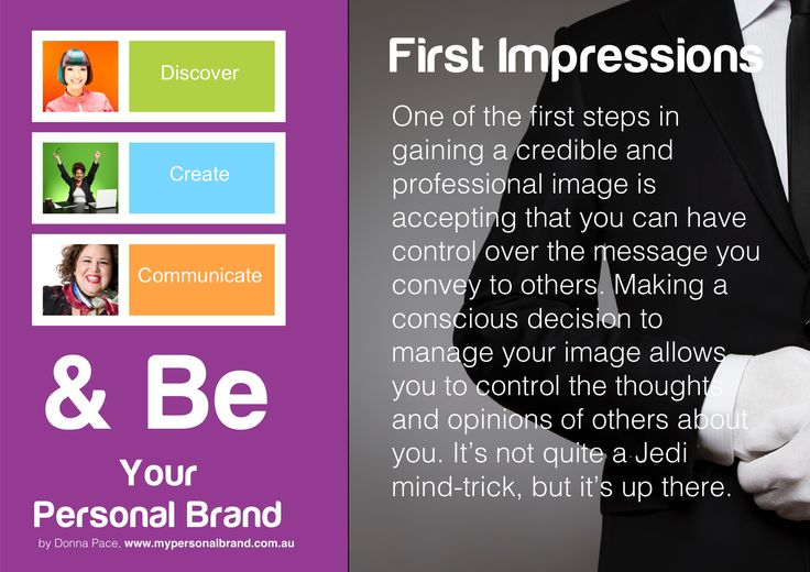 First Impressions can have a huge imp ace on your success. How do you ensure you project a great First Impression?