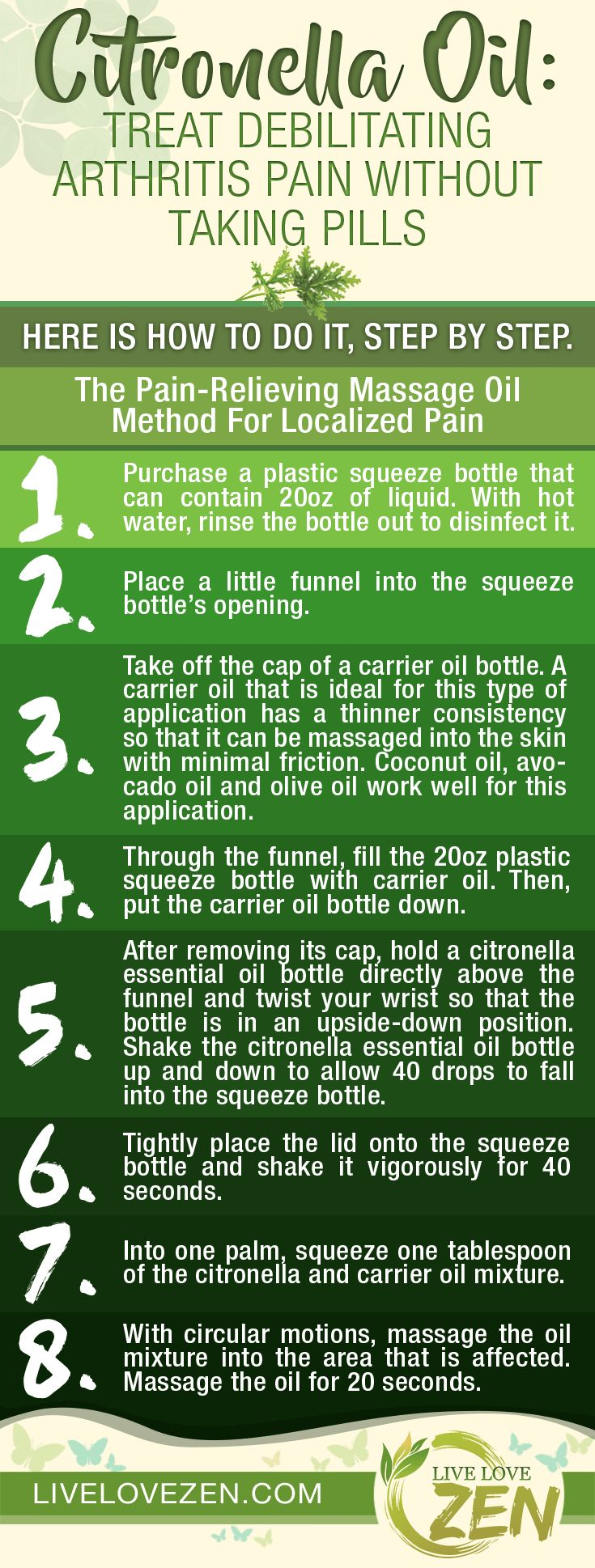 Most people are familiar with citronella essential oil because of its amazing ability to repel mosquitoes. During the hot summer months, the rela lemony scent of citronella seems to be everywhere. In fact, citronella essential oil is capable of so much than keeping annoying mosquitoes away in the summertime. This essential oil is packed …