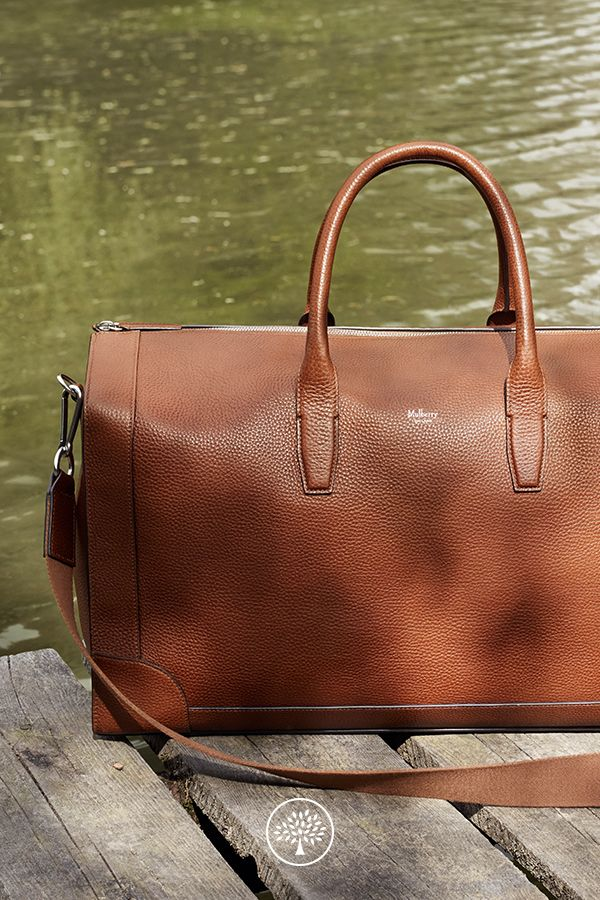 The Belgrave Travel Bag can be handheld, worn on the shoulder or across your body, and makes a great overnight or carry-on bag.