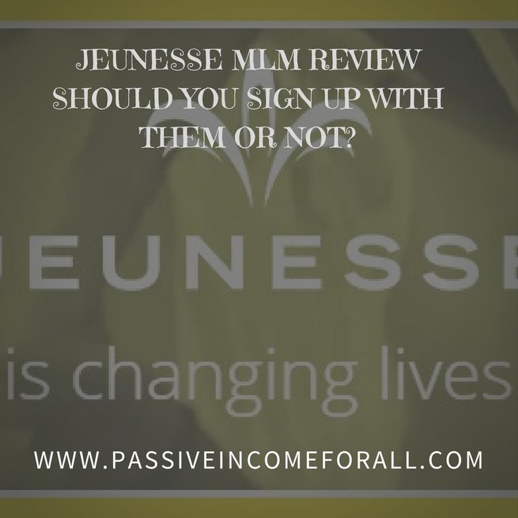 Explore and Learn more about the Company's business structure, product line and some other inside info in this Jeunesse MLM Review.Should you sign up with them or not? All the information that you need is right here.