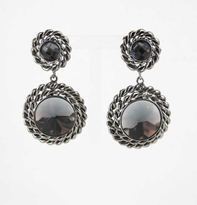 elena earrings, silver | cecilie melli