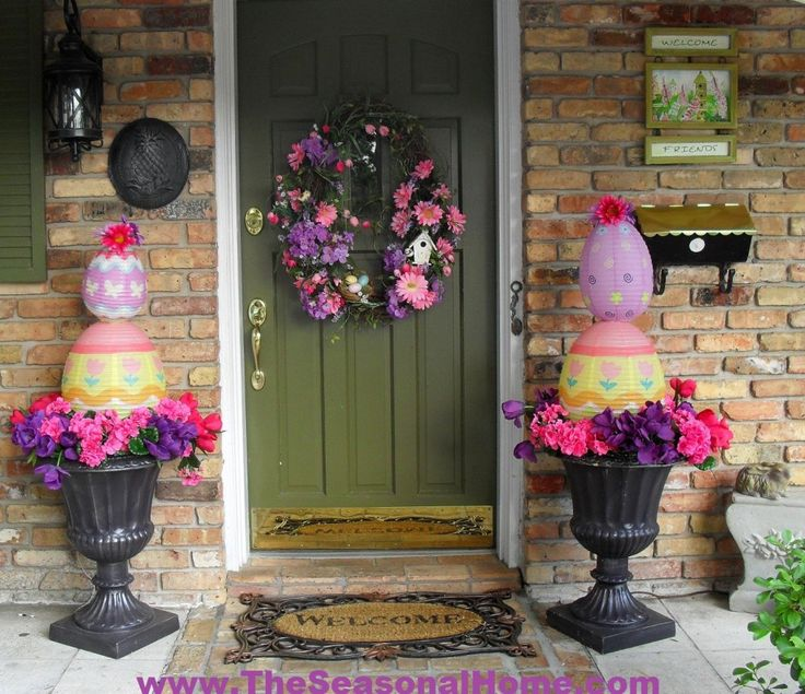 Outdoor Spring Decor: 282 Best Images About Spring Flings And Easter Things On