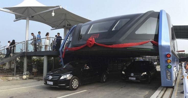 Un TEB podría reemplazar, de acuerdo a sus creadores, a 40 buses convencionales