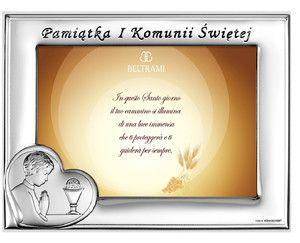 Pamiątka I Komunii świętej dla chłopca Ramka na zdjęcia You will find us on www.pasazhandlowy.eu