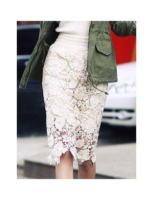 INBAL Flower Cutout Skirt @Abigail Phillips Regan Truax://www.shopjessicabuurman.com