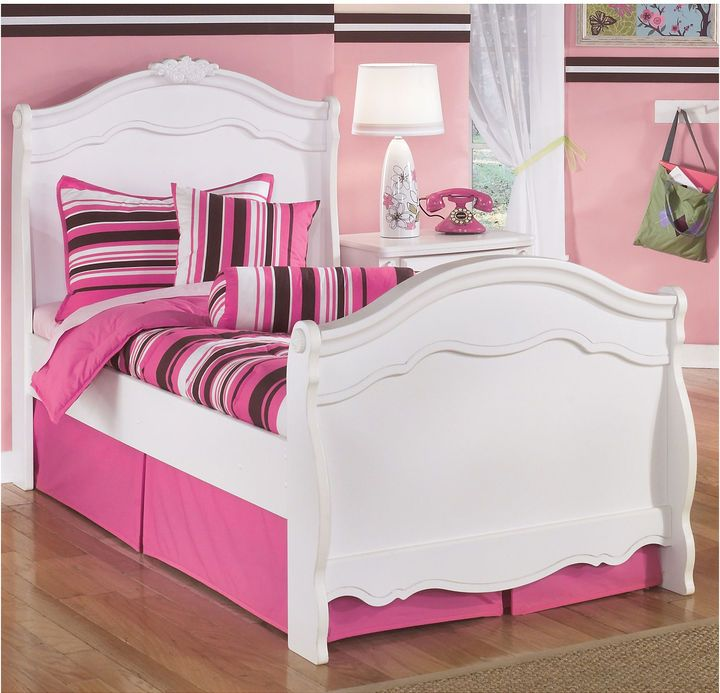 SIGNATURE DESIGN BY ASHLEY Signature Design by Ashley Exquisite Twin Sleigh Bed
