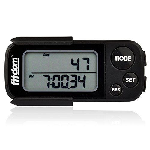 Premium Pedometer for Walking Running Count Steps Track ...