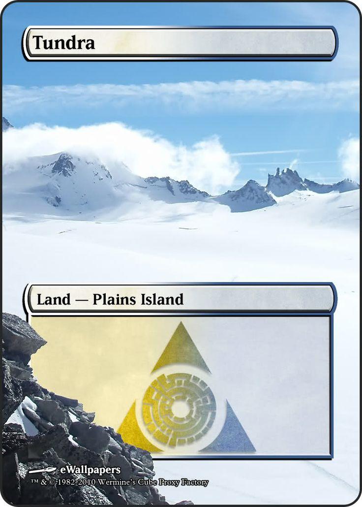 Magic The Gathering Tundra Proxy