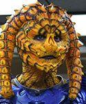 Gwendoline Christie in 'Wizards vs. Aliens'