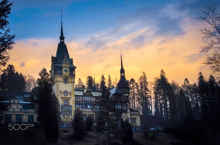 Peleș Castle is a Neo-Renaissance castle in the Carpathian Mountains, near Sinaia, in Prahova County, Romania, on an existing medieval route linking Transylvania and Wallachia, built between 1873 and 1914