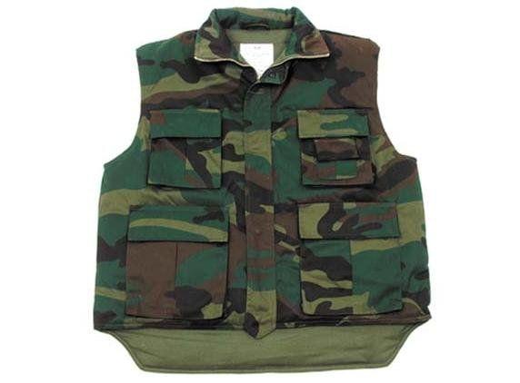 MFH US Steppweste, Ranger, woodland/ mehr Infos auf: www.Guntia-Militaria-Shop.de