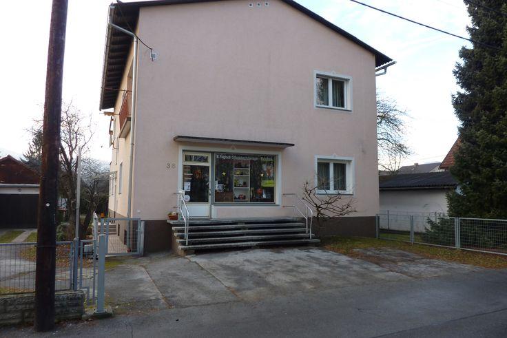 Dem Vernehmen nach war hier, in der Frühlingstraße 38 in Wetzelsdorf, Filiale Nr. 140 zu finden.