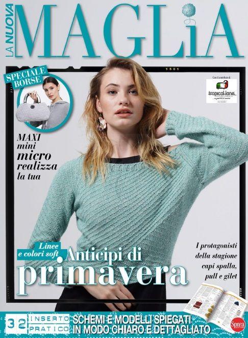 La Nuova Maglia 7 2019 иностранные журналы по вязанию Knit