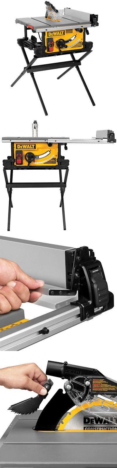 Table Saws 122835: Dewalt 10 Compact Table Saw W Scissor Stand Dwe7490x New -> BUY IT NOW ONLY: $499 on eBay!