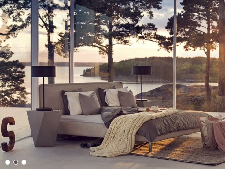 This bedroom and the view